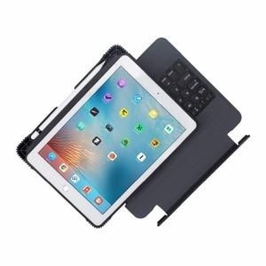 Image 3 - Per Il caso del iPad 9.7 2017 2018 Ultra sottile Tastiera Senza Fili di Bluetooth della copertura di Caso Per iPad 5/6/Aria/Aria 2 / Pro 9.7