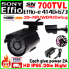 Discount 1 3 Sony CCD 800 900TVL Effio A Mini Hd Surveillance Cctv Camera OSD Waterproof