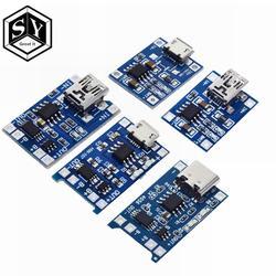 Type-c/Micro USB 5 V 1A 18650 TP4056 литиевых модуль зарядного устройства аккумулятора зарядки доска с защитой двойной функции 1A литий-ионный