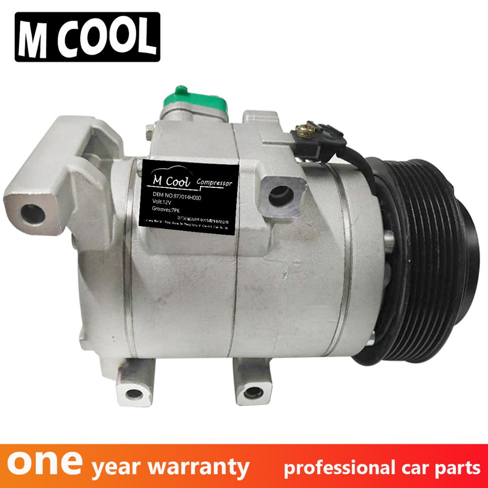 New AC Compressor For Hyundai Grand Starex 977014H010 977014H000 888897039873 Auto Air Compressor in Air conditioning Installation from Automobiles Motorcycles