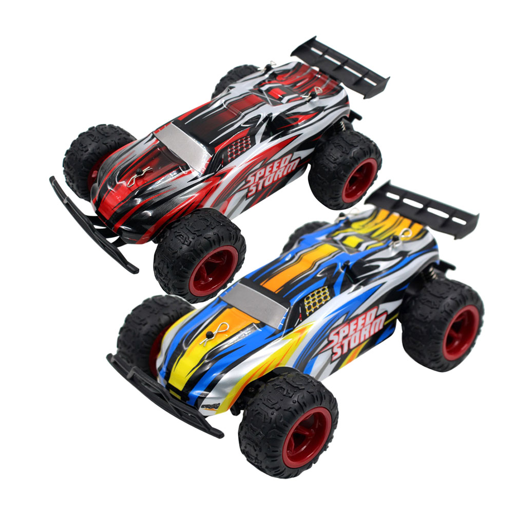 RC Car 2.4G Radio Remote Control Model Scale <font><b>1</b></font>:22 Rally Shockproof Rubber Wheels Buggy Highspeed RC Off-Road Racing Car Toy