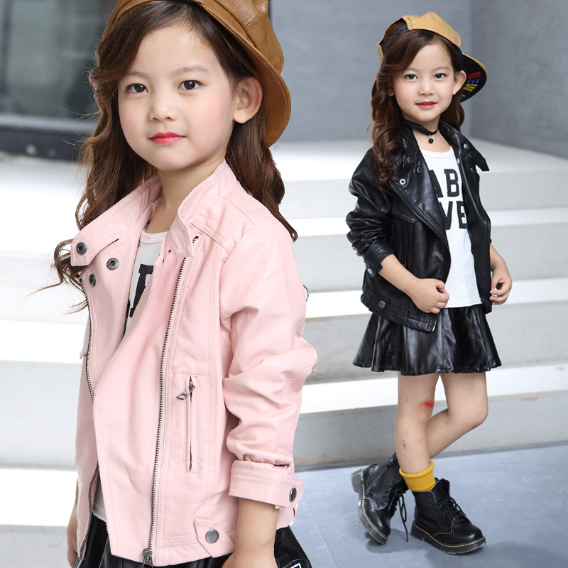 Image result for kids wear leather jacket with accessories