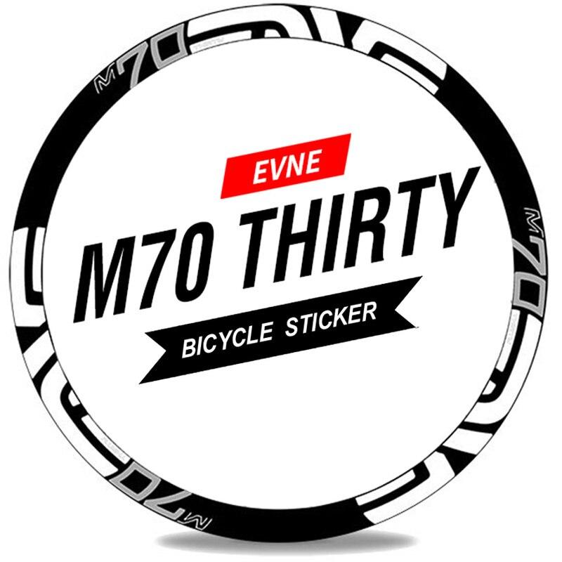 M70 THIRTY 26er 27.5er 29er Mountain bicycle sticker MTB