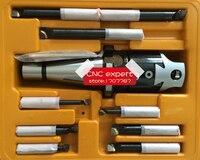 Nt30/iso30 테이퍼  F1-12 50mm 보링 헤드  iso30 섕크 및 9 pcs 12mm 보링 바  보링 헤드 세트  f1 보링 헤드