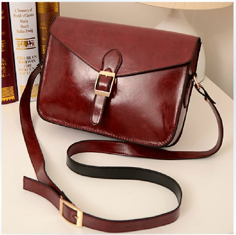 Whole Las 2017 Korean Envelope Bag Cross Body Messenger Bags Satchel Pu Leather Handbag Fashion Vintage Small Red In Shoulder From Luggage