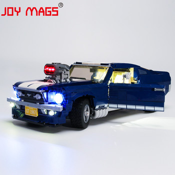 JOY MAGS Only Led Light Kit For Creator 10265 Ford Mustang Lighting Set Compatible With 21047 11293 (NOT Include Model) image