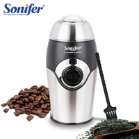 200W Mini Electric Coffee Grinder Maker Kitchen Salt Pepper Grinder Spices Nut Seed Coffee Beans Mill Herbs Nuts 220V Sonifer