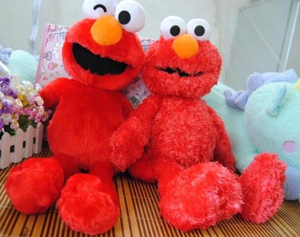 Cute Elmo Red 50cm 2pcs Lot Super Soft Large Plush Doll