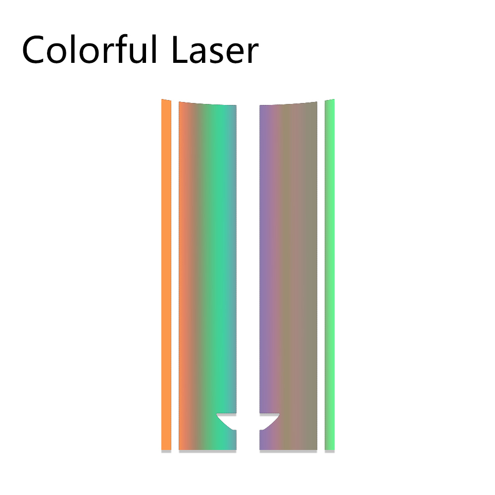 Автомобильный стиль, наклейка на голову, капот, наклейки в полоску для MINI Cooper S One, земляк, Clubman R55 R56 R60 R61 F54 F55 F56 F60, аксессуары - Название цвета: Laser