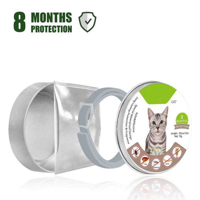2019 Pet Cat Collar Summer Anti Flea Mosquitoes Ticks Waterproof Cat Flea Collar For Dogs Cats,adjustable Easy To Wear