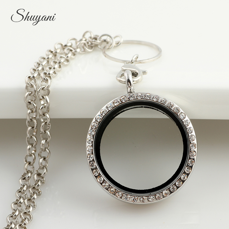 custom necklace round lockets listing locket length zoom fullxfull silver plain il