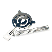 Stainless Steel 4-Prong Cocktail  Ice Strainer