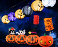Hanging Pumpkin Light Paper Lantern Decor Lamp Light Halloween Holiday Party Decoration Props Lanterns