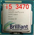 free Shipping Core I5-3470 I5 3470 3.2GHz Quad-Core LGA 1155 L3 Cache 6MB Desktop CPU