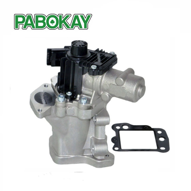 For Ford Citroen Lancia Phedra EGR Valve with gaskets 1427355 9656911780 6G9Q9D475AA 1618.T1 6G9Q-9D475-AA LR000997 1618T1 egr valve for mini citroen fiat ford peugeot volvo 1 6 hdi d tdci 9672880080 for 206 207 307 308 407 1 6 hdi 1618 59 1618 nr