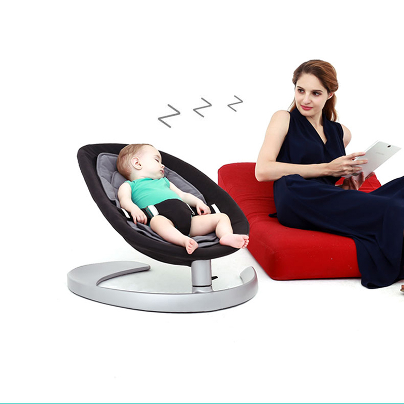 super load bearing 60kg baby rocking chair without electricity radiationless baby rocking chair baby cradle appease newborn baby 2017 new babyruler portable baby cradle newborn light music rocking chair kid game swing
