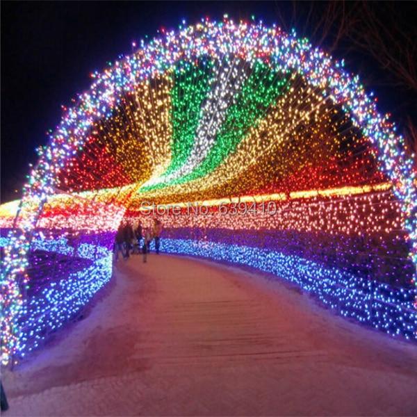 New EU 100M Christmas Tree Lights string Decoration Light New Year ...