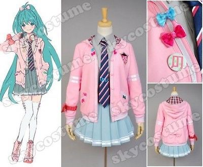Vocaloid Project DIVA f Miku Cosplay Costumes For Women Anime Halloween Costume