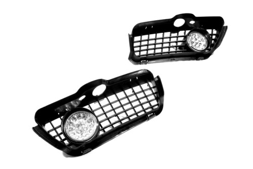 HotSale 2PCS Super Bright Car Front Fog <font><b>lights</b></font> Kit (Yellow LED) for <font><b>VW</b></font> <font><b>Golf</b></font> <font><b>MK3</b></font> High Power image