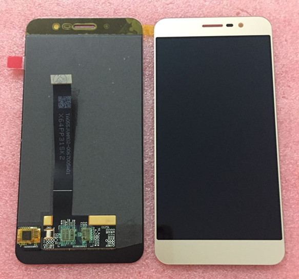 "LCD Screen display+touch Digitizer For 5.5"" ZTE Blade A910 BA910 Gold or Black or white free shipping"