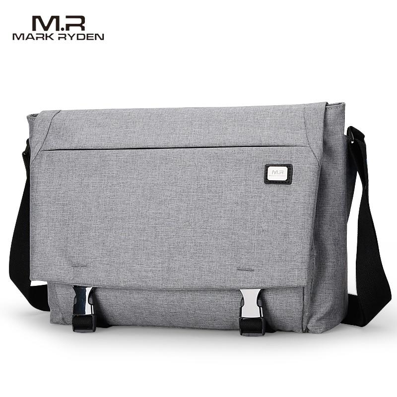Crossbody Water Repellent Messengers Bag - Business & Casual Shoulder Bag 1