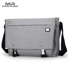 MarkRyden New Crossbody Bags for Men Water Repellent Messengers Bag Business Casual Shoulder Bags(China)