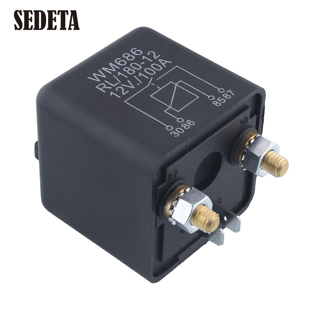 popular 12v 100a relay buy cheap 12v 100a relay lots from. Black Bedroom Furniture Sets. Home Design Ideas