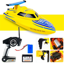 RC Boat WL911 RC Boat 4CH 2 4G 24km h Racing RTF Waterproof Remote Outdoor Toys