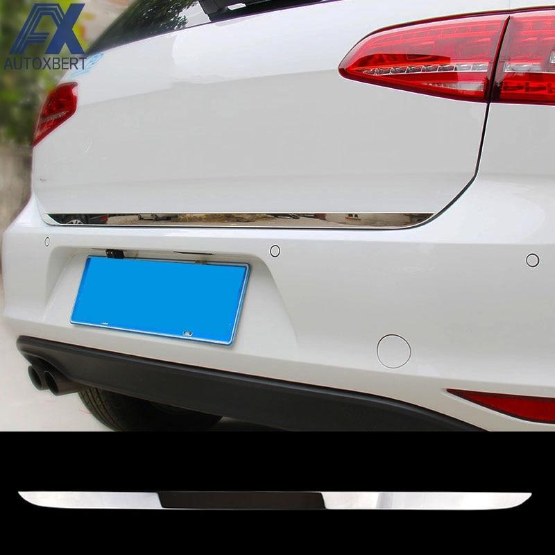 FOR 2010-2017 VW TIGUAN REAR TRUNK DOOR LID COVER GARNISH TAIL GATE TRIM
