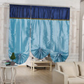 70*180cm Window Blinds CurtainScrolling Bohemian Exotic Stitching Roman Enetian Blinds Curtain Finished Curtains Lift Home Decor