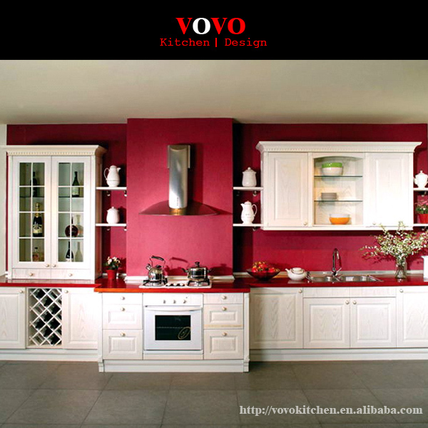 Modern UV High Glossy Kitchen Cabinet & Modern UV High Glossy Kitchen Cabinet -in Kitchen Cabinets from Home ...