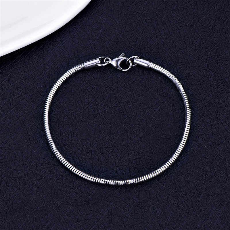 Kpop Bangtan Boys Titanium steel Snake Chain Bracelet Bangles For Women Jewelry Never Fade Best Gift Party Jewelry 18757