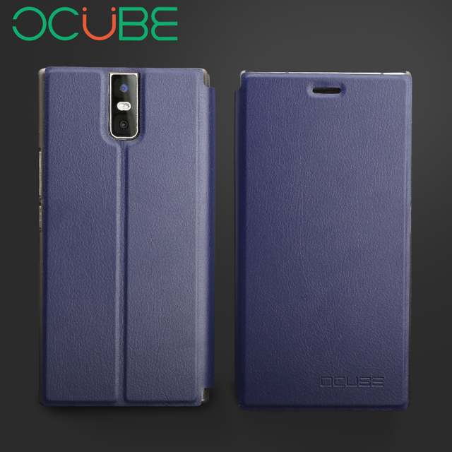 """oukitel k3 leather case Ocube Protective Stand Flip PU Leather Hard Cover Case For 5.5"""" oukitel k3mobile phone"""