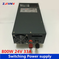 industrial and led used 800W 24v 33a switching power supply AC DC 24v power supply input 110v or 220v power supply unit 24v