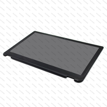 купить Full LCD Screen Display Touch Glass Digitizer Assembly+Bezel For Toshiba Satellite Radius P55W-B Series P55W-B5318 P55W-B5162 дешево