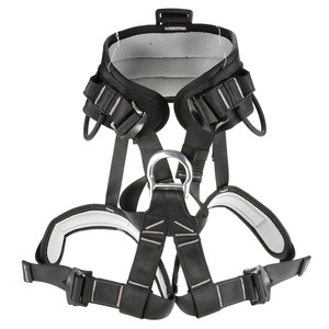 Image 4 - Professional Thicken Strong Seat Safety Belt Rock Climbing Bust Harness Rappelling Mountaineering Caving Rescue