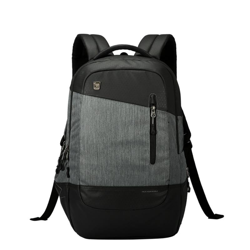 OIWAS 16.5inch laptop backpack for women Men Backpack school backpack Bag Business Travel bag water proof Drop Shipping oiwas multifunctional solid color men women laptop backpack business style travel bag school shoulder bag black