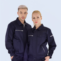 Women/Men Workwear Suits Long Sleeve Jackets and Work Plants Work Clothing Sets for Factory Workers Car Repairman Work Overalls