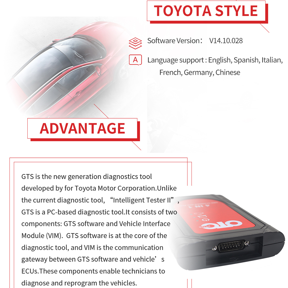 Image 4 - OTC Plus 3 in 1 Diagnostic Tools For nissan consult For toyota Intelligent Tester For volvo vida dice OBD Scanner GTS With HDD-in Car Diagnostic Cables & Connectors from Automobiles & Motorcycles on