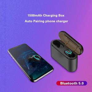 Image 3 - Dikdoc Bluetooth earphone in ear handfree HiFi top sound quality wireless earbuds mega bass 1500mAh power box TWS earhone