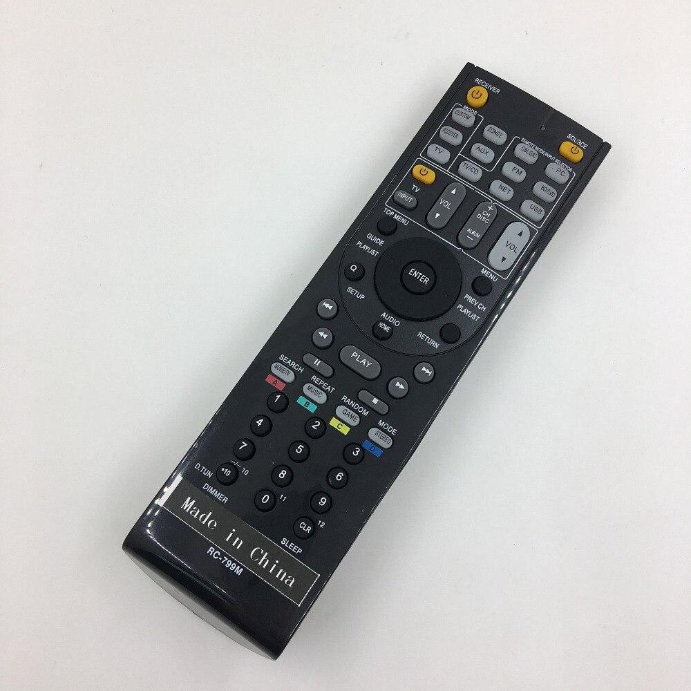 Replacement Remote Control For ONKYO TX-NR737 RC-879M RC-880M TX-NR636 HT-RC660 AV Receiver стереоресивер onkyo tx 8150 black