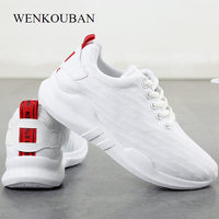 Platform Shoes Women Casual Sneakers Trainers White Shoes Female Summer Tenis Feminino Ladies Mesh Flat Sneakers