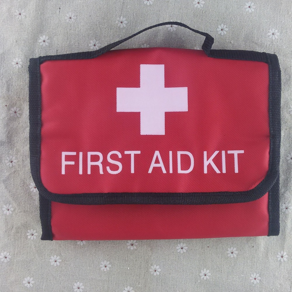 Emergency kits medical first aid kit outdoor survival travel hiking camping emergency treatment pack set mini portable pouch bag outdoor survival 12 in 1 emergency bag first aid kit bag middle size red emergency survival medical kit treatment pack