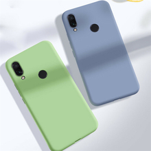 Shockproof Phone Case For Xiaomi Redmi 6A 7 6 Note 7 Pro Shockproof Liquid Soft Silicone TPU Cover For Xiaomi Redmi 6 Pro Note 7 case for xiaomi redmi note 7 7 pro case bumper cover soft silicone case for redmi 6 6a note 6 pro case for redmi note 6 7 pro