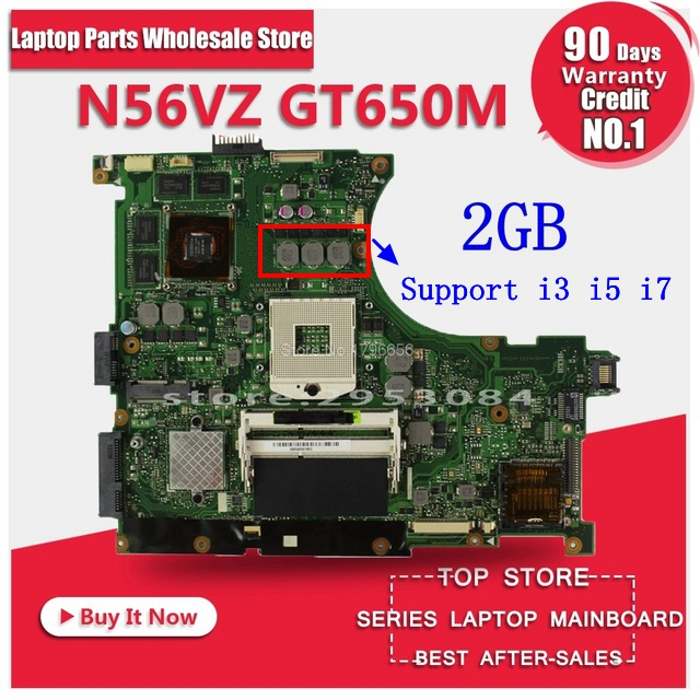 New USB baord+N56VM motherboard Rev 2.3 GT650M 2GB For Asus N56VM N56VJ N56V N56VZ N56VB N56VV N56VM laptop motherboard Mainboad sheli n56vm motherboard for asus n56v n56vm n56vz n56vj laptop motherboard gt650m original tested mainboard n56vz