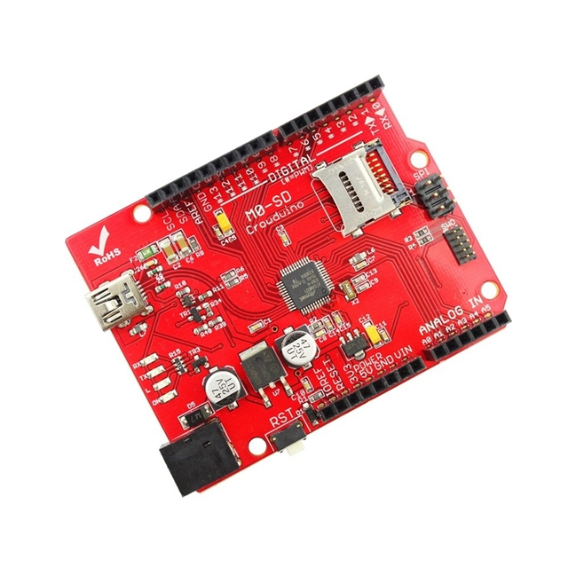 Elecrow M0 SD Board for Arduino UNO Platform SD Card 32-bit Extension Micro Controller Projects DIY Kit