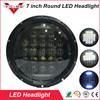75w 5D Light 7 Inch Round LED Headlight With DRL High Low Beam Led Chip For
