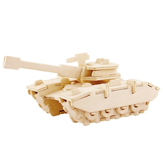 Educational Wooden DIY Toy Model
