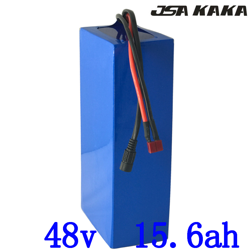 48V 15AH battery pack 48V 15AH 1000W ebike scooter Lithium ion battery 30A BMS and 54.6V 2A charger Free customs Fee|Electric Bicycle Battery| |  - title=