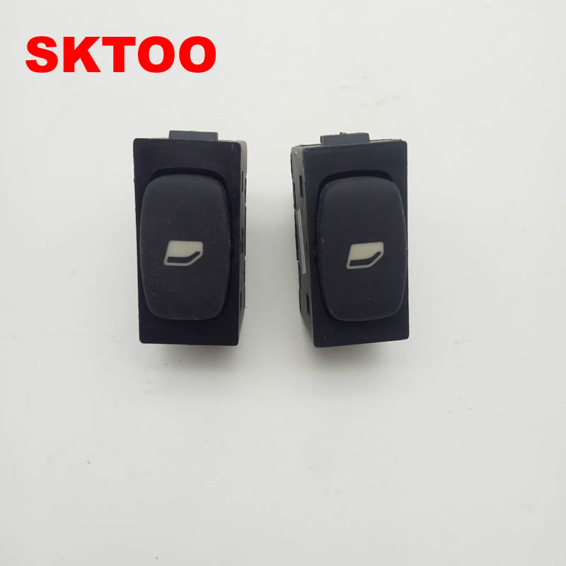 SKTOO Free Shipping For Peugeot 307 Rear Door Window Lifter Switch (New And Old General)
